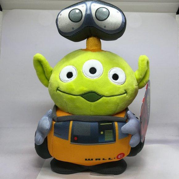 Disney Pixar Toy Story Alien Remix - Wall E Plush